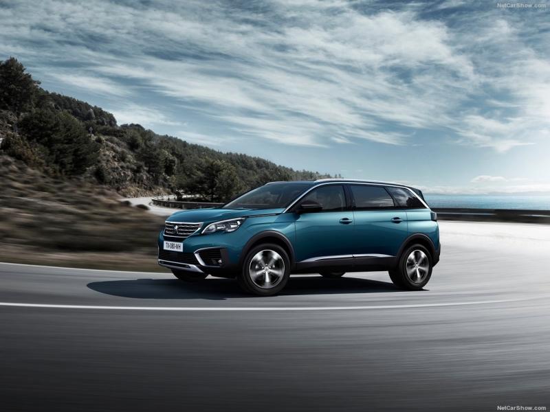 Nieuwe Peugeot 5008SUV