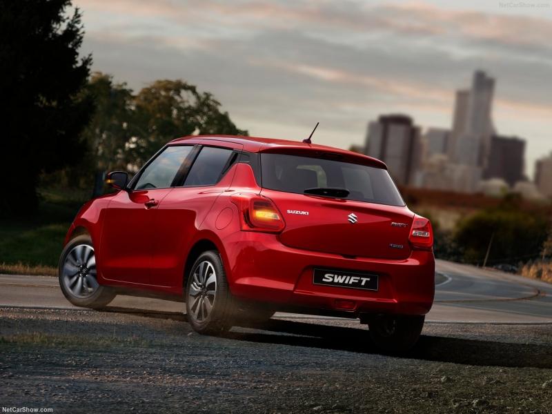 Nieuwe Suzuki Swift