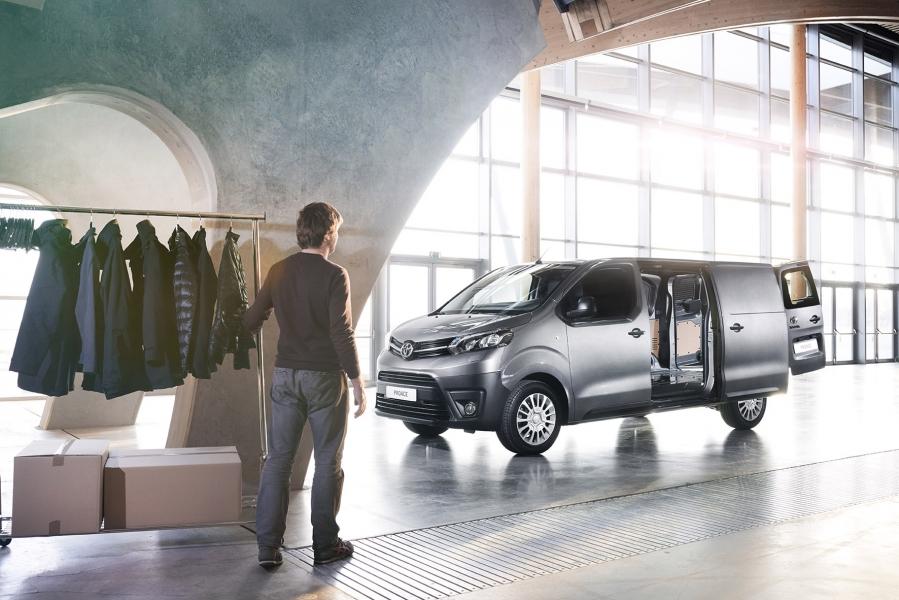 Nieuwe Toyota Proace