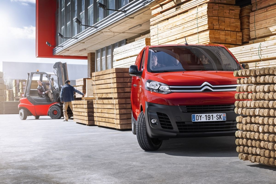 Nieuwe Citroën Jumpy